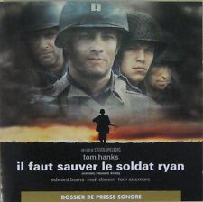 Il faut sauver le soldat Ryan CD Promo Tom Hanks John Williams 1998