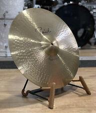 """Paiste Signature Bright Ride Cymbal 20"""" Cymbal #443"""