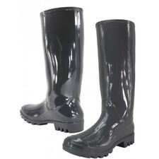 Shoes 18 Womens Rain Boots  Rubber Pull On Garden    8 Colors Size 5-11