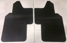 SALE StreetRays Universal 4 Mud Rock Guard Flaps STARTER Set BLACK (NO HARDWARE)