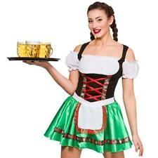 Adults Ladies Womens Oktoberfest Bavarian Beer Girl Wench Fancy Dress Costume