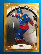 1997-98 DONRUSS Preferred #15 BRETT HULL Gold Insert Card St Louis Blues NM-MT