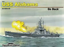 23862/ Squadron Signal - On Deck No 1 - USS Alabama - TOPP HEFT