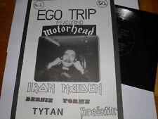 More details for ego trip no 2 - fanzine 1982 motorhead iron maiden torme tytan grand prix flexi