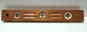 Vintage Craftsman Wooden Level, Sears #1473, 3-Bubble, Old!!