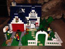 Lego Creator 5891 Apple Tree House with Custom Add-ons & Mini-figures