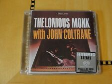 Thelonious Monk with John Coltrane - Super Audio CD SACD Hybrid