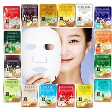 Moisture Essence Face Mask Sheet Korean Facial Beauty Skin Care Collagen Pack