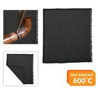 Plumbing Soldering Mat DIY Heat Resistant Woven Glass Fabric Brazing Pad 8x10in