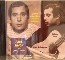 PAUL SIMON aka Jerry Landis 'Work in Progress' Vol# 3