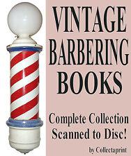 ☆ BARBER SHOP / BARBERING, HAIRDRESSING ☆ Many Books Scans + Prints DVD-Rom ☆