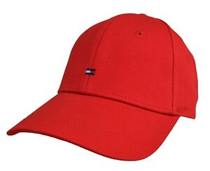 TOMMY HILFIGER - CLASSIC CAP BASEBALL - ROT TRUE RED - ONE SIZE - NEU