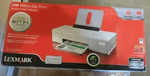 New in Box Sealed Lexmark Z1480 Wireless printer Never out of Box Fast Ship USB