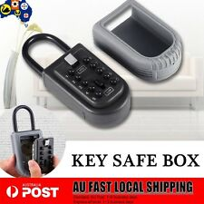 10 DIGITAL LOCK KEY SAFE BOX STORAGE PADLOCK SECURITY HOME COMBINATION OUTDOOR