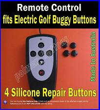 fits Remote control electric golf buggy caddy - 4 Repair Buttons