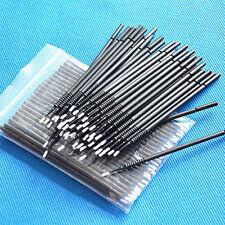 300PCS Black Color Disposable Micro Applicator Mini Brush Bendable Small