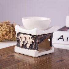 Feng Shui Zen Ceramic Essential Oil Burner Diffuser Tea Light Holder Great Fo...
