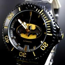 Invicta DC Comics Batman Grand Diver Black Steel 47mm Automatic LE Watch New