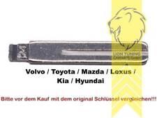 Schlüsselrohlinge für Klappschlüssel Zentralverriegelung Kia Hyundai Volvo Toyot