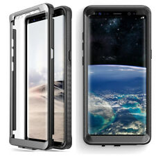 Samsung Galaxy Note 8 Case Poetic Shockproof Cover with Screen Protector Black