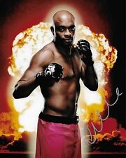 UFC Fighter Anderson Silva Autographed 8x10 Photo (Reproduction)  1
