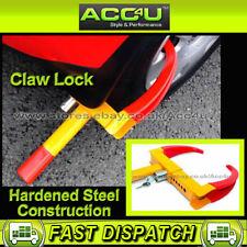 New Heavy Duty Car Caravan Van Trailer Easy Fit Road Steel Claw Lock Wheel Clamp
