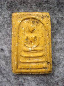Phra Somdej Toh Phong Suphan Wat Pra Kaew Temple Talisman Old Thai Buddha Amulet