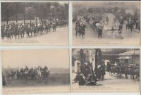 ROYAL VISITS PARIS ITALY SPAIN 65  Vintage  Postcards pre-1940