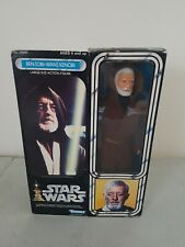 "Vintage kenner STAR WARS obi-wan Ben Kenobi 12""1978 boxed sealed misb (relisted)"