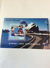 Sydney Olympic Games 2000 Guinea Bissau Winners Sheet doubles men table tennis