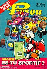 Picsou Magazine N°176 - Walt Disney - Eds. Edi-Monde - 1986