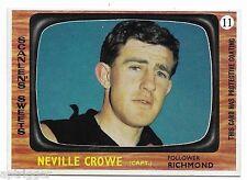 1967 Scanlens (11) Neville CROWE Richmond  { Mint }