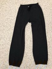 James Perse Standard Dark Charcoal Gray Sweatpants Drawstring Pants Size 2 S  M