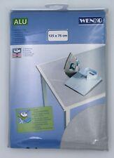 Wenko Tischbügeldecke Bügeldecke Bügelunterlage aluminiumbeschichtet 125 x 75 cm