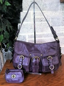 COACH LEATHER LEGACY GARCIA 12654 HOBO SATCHEL HANDBAG BAG PURSE SHOULDER
