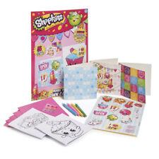 Shopkins trarre le tue carte Craft Kit Party Borsa Regali RRP £ 4.99 ciascuno