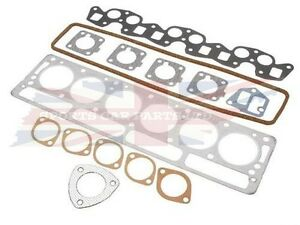 New Cylinder Head Gasket Set for Triumph TR250 and TR6 1969-1971 Flat Block