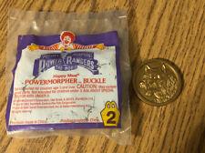 MIGHTY MORPHIN POWER RANGERS POWER MORPHER BUCKLE NIP Vintage McDonald's Toy