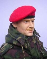 Banjoman 1:6 Scale Custom Made Beret - Red