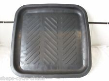 "Motorcycle Rubber Oil Drip Tray Motorbike parts tray 15""x15"" Fluid Scooter"