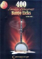 400 Smokin' Bluegrass Banjo Licks Tabulatur Songbook mit CD