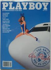 THE ONLY WAY TO FLY AIR PLAYBOY MAGAZINE MAY 2014