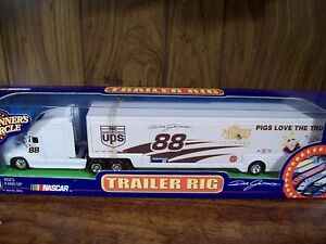 DALE JARRETT MUPPETS MISS PIGGY & KERMIT NASCAR  Transporter Hauler RIG