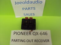 Pioneer QX-646 Original Single Speaker Terminal Board. Parting out QX-646.***