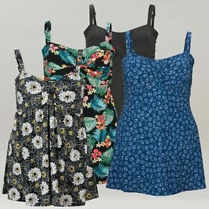 14-32 C/D DD/E F/G   Plus Size Swimdress for Women