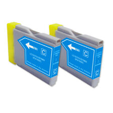2 CYAN Ink Cartridge for Brother LC51C MFC 440CN 465CN 665CW 685CW 845CW