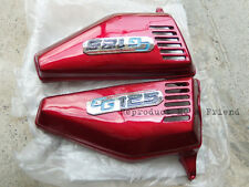 Honda CG110 CG125 JX110 JX125 Side Cover Set L/R Red New