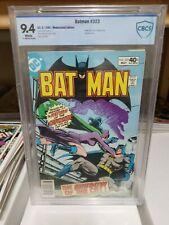 Batman #323 NM 9.4⛓️Catwoman⛓️2nd Timothy Fox Batman 313 High Grade CBCS not CGC