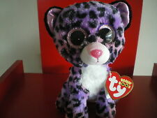 Ty Beanie Boos JEWEL the leopard 6 inch NWMT.Justice Exclusive.LIMITED QUANTITY.