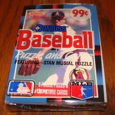 1988 Donruss Baseball cards unopened cello pack-Don Sutton shows (T)